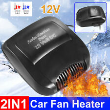 Cold and Hot Car Portable Electric Heater Heating Cooling Fan Defroster Demister