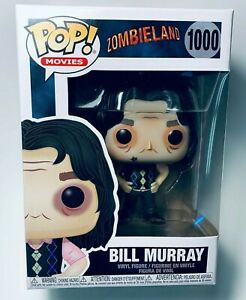 "FUNKO Pop Movies Zombieland BILL MURRAY #1000 4"" Vinyl Figure NEW IN STOCK"