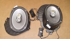 ★★RARE-2003-08 HYUNDAI TIBURON OEM REAR INFINITY SPEAKERS-BACK RADIO SPEAKERS