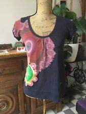 T-shirt Desigual Taille S TBE