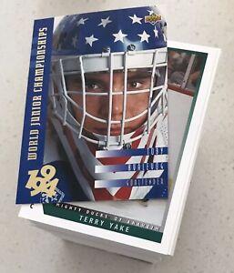 1993-94 Upper Deck  Hockey Series 2  265 card set**High Grade
