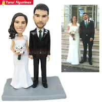 ooak custom bobblehead cake topper wedding cake topper bobblehead figurines doll