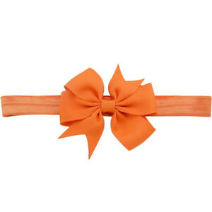 1 Piece Toddler Baby Infant Headband Fishtail Bow Hair Band Headwear Accessories