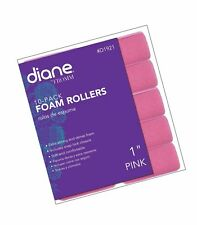 """Diane Foam Rollers, Pink, 1"""", 10/bag 1''"""