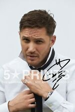 """SIGNED PP TOM HARDY POSTER PHOTO 12x8"""" AUTOGRAPH PRINT BRITISH ACTOR STYLE C"""
