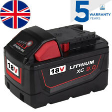 18V 9.0Ah High Capacity for Milwaukee Battery M18 M18B9 48-11-1890 48-11-1850