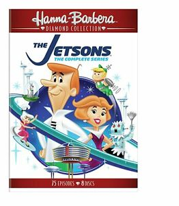 The JETSONS : The Complete Series + Movie DVD 8 Discs Region 4 New & Sealed