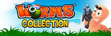 Worms game pack: 9 Worms games + 12 DLCs (PC) [Steam]