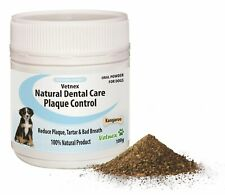 Natural Dental Care PlaqueControl Dental Powder (Kangaroo) for Dogs 100g