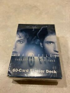The X Files Collectible Card Game Starter Deck - New