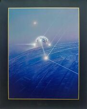 """Silkscreen, Hand signed and numbered, Andreas Nottebohm, """"Dreams of Space"""""""