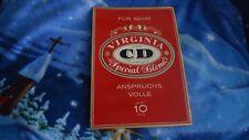 Publicité Bouclier exploitant carton egulan cigarettes CD Virginie Special Blend