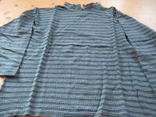 Shirt, Damen, tolles Muser, Hochkragen, L, Coppa Design, ca. 42