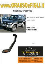 Kit Snorkel Aspirazione Aria Specifico For HYUNDAI GALLOPER  S54/C