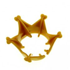 1 x Lego Duplo Figur Zubehör Krone perl gold gelb Tiara Prinzessin Schloss 57887