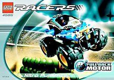 Lego® - 4585 - Nitro Pulverizer - Racers / Drome Racers mit OBA