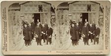 Chine China Ministers of foreign powers negotiated the 'Boxer Protocol' 1901