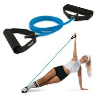 Azure Tone Trainer Resistance Tube Band Exercise Fitness Workout with Handles
