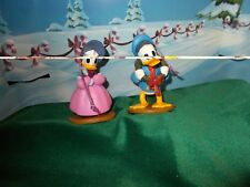 DONALD AND DAISY DUCK , CHRISTMAS PAST CHRISTMAS ORNAMENTS, EXCLUSIVE, NEW