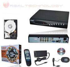 DVR 8 CANALI ITRY  CON HARD DISK 1TB REGISTRATORE CONTROLLO WEB DDNS DV-1008