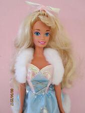 B181-vieja Skating Star barbie mattel 1995 wal mart completa ropa + joyas