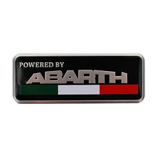 Car Emblem Auto Badge Fender Logo sticker for Abarth FIAT 500 punto