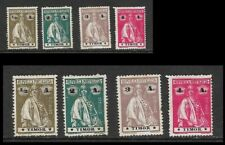 Portuguese Timor – Lot of 4 stamps 1914 Reaper, ½A olive brown/black, 2A bluish