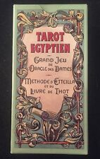 TAROT EGYPTIEN Grand Jeu I'oracle Des Dames 78 CARDS Made In France MAGIC