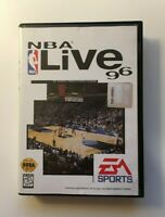 NBA Live 96 - Sony Playstation 1, 1995 - TESTED