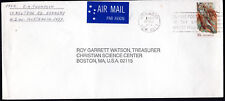 1973 HORNSBY NSW 30c Aboriginal Art Australia Airmail Cover Chistian Science USA