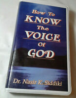 How To Know The Voice Of God Dr. Nasir Siddiki- 6 Casettes