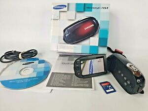 Samsung Smart Camcorder Memory Cam Shoot & Share With 8GB Card SMX-C20BP