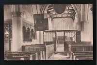 L@@K  Wensley Church Leyburn Wensleydale 1900's Postcard Yorkshire
