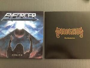 DISSECTION The Somberlain & ENFORCER Zenith VINYL LP PACKAGE RAR SELTEN OOP
