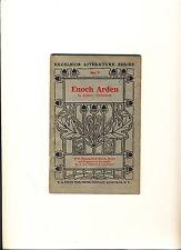 "Vintage Excelsior Literature Series # 7 ""Enoch Arden"" by Alfred Tennyson 1910"