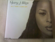 MARY J BLIGE - ALL THAT I CAN SAY - R&B CD SINGLE