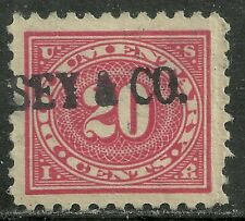 U.S. Revenue Documentary stamp scott r256 - 20 cents issue of 1928-29