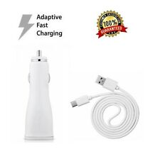 Adaptive Fast Car Charger+6ft USB Type-C Cord Cable for Samsung Galaxy A10e A10E