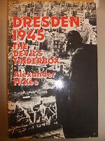 war Dresden, 1945: The Devil's Tinderbox by Alexander McKee (H/back, 1982) 15x22