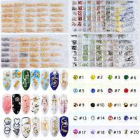 Nail Art Multi Style Crystal Rhinestones Nail Rivets 300-1728PCS Tips Decor DIY