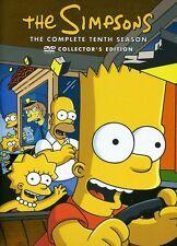 Simpsons: The Complete Tenth Season [3 Discs] DVD Region 1