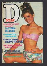 DOLLY 253/1983 ROBERTA MANFREDI CREATURES RICCARDO ZAPPA GRUPPO ITALIANO POSTER