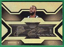 2007-08 UD Black BARON DAVIS TICKET AUTOGRAPH GOLD Warriors RARE 13/15