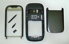 Full black fascia housing cover facia faceplate case for Nokia C7 black