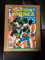 Captain America 312. 1st App Of FLAG SMASHER Canadian Price Variant 75c