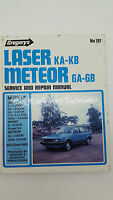 Gregorys SP No 197 Ford Laser KA-KB Ford Meteor GA-GB 1981-1985 Service Manual