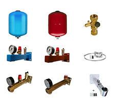 Ausdehnungsgefäß 5-35L für Heizung /Trinkwasser, Kappenventil, Sicherheitsgruppe