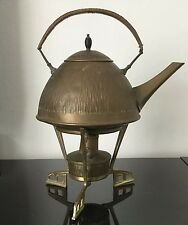 Samovar ART NOUVEAU 1900 Signed K Jugendstil Arts And Crafts Kettle on Stand
