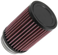 "RD-0710 K&N Universal Rubber Air Filter 2-1/2""FLG, 3-1/2""OD, 5""H (KN Universal A"