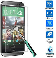 Tempered Glass Film Screen Protector for HTC One M7 M8 M9 10